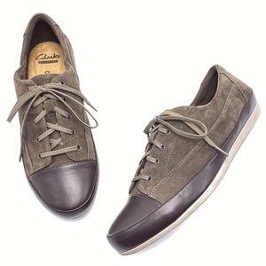 Clarks Lorry Grace 7M Cap Toe Casual Sneakers